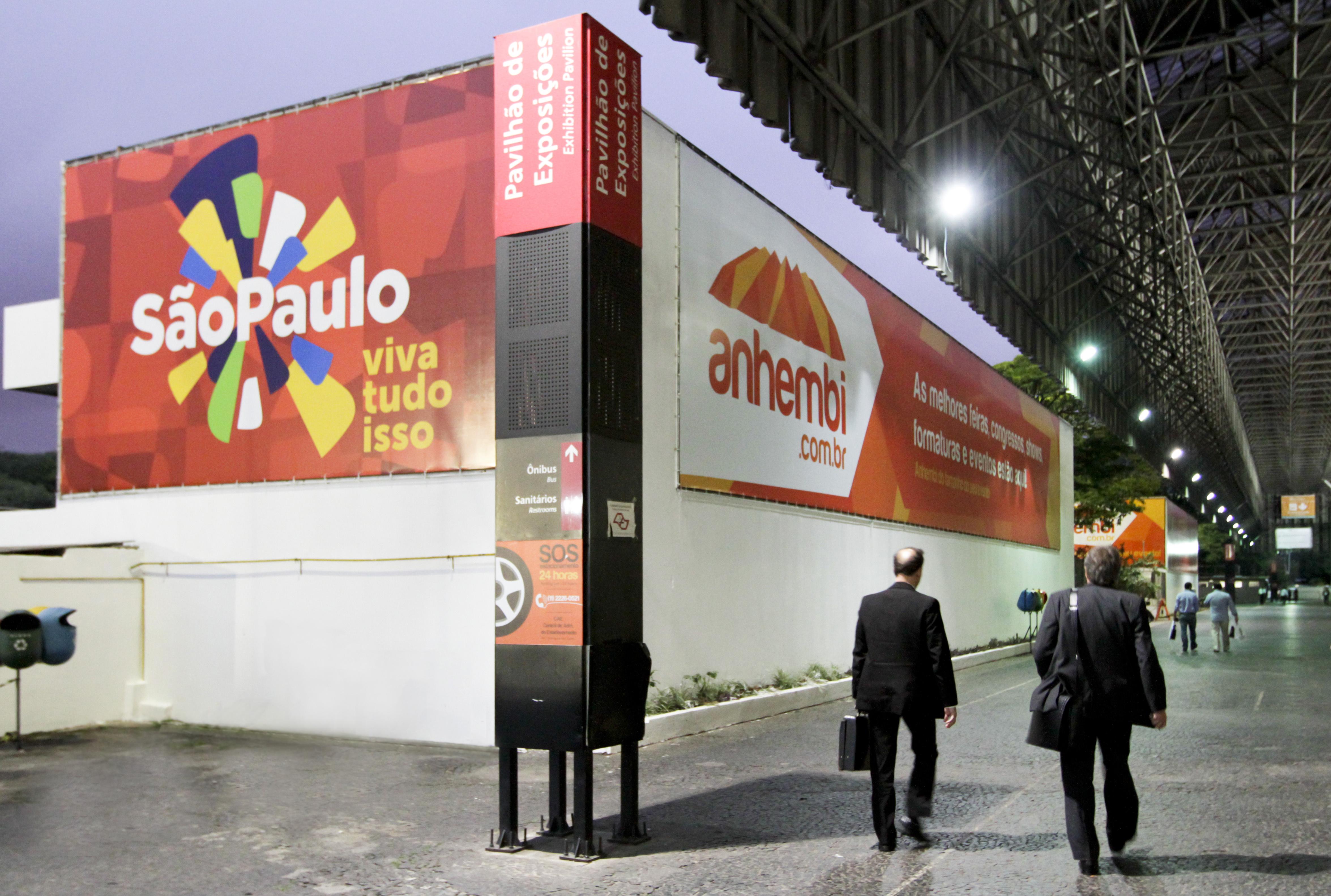 Marca São Paulo no Pavilhão. Foto: José Cordeiro/ SPTuris.