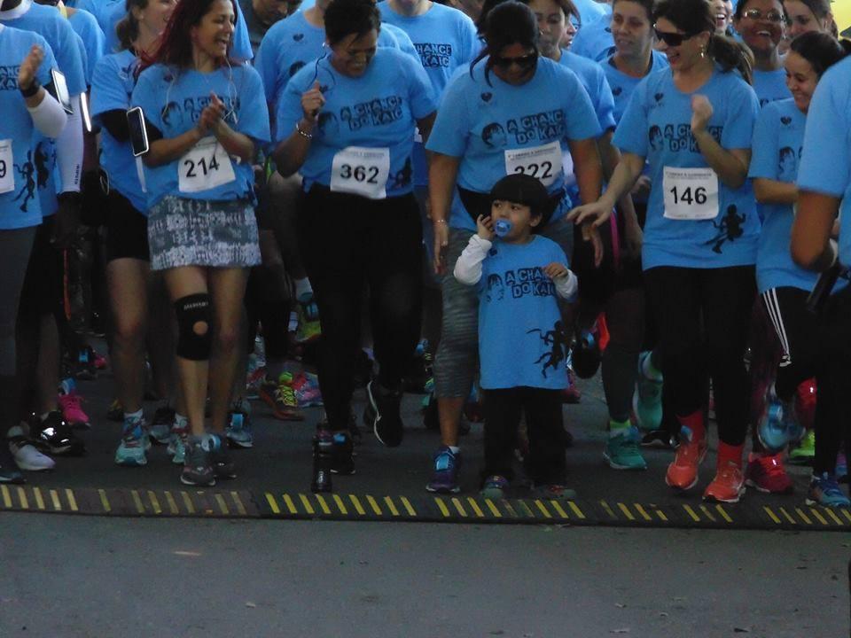 3ª Corrida e Caminhada em prol do tratamento de Kaic. Foto: divulgação.