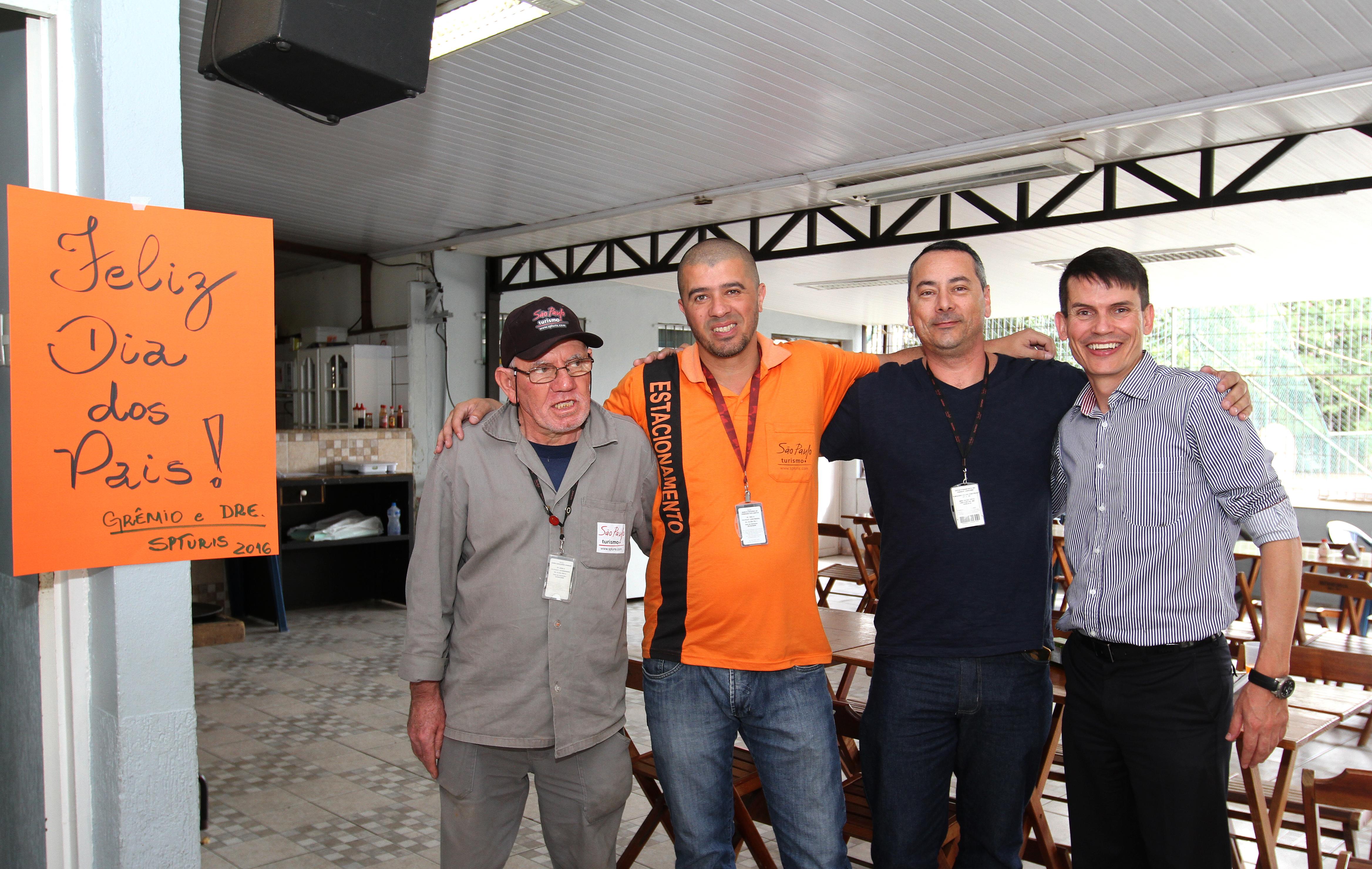 Dia dos Pais - Grêmio e DRE organizam almoço em homenagem aos pais. Foto: Jose Cordeiro/ SPTuris.