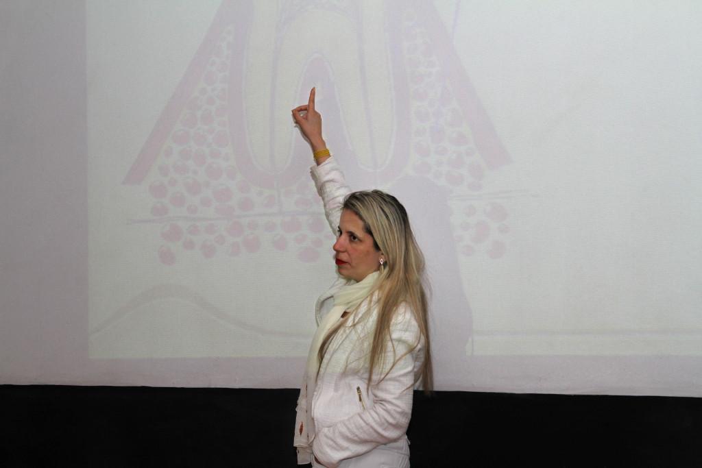 SIPAT CIPA 2016 – São Paulo (SP) – 21.11.2016 - Semana Interna de Prevenção de Acidentes de Trabalho (Sipat). Na foto, apresentação da palestra Saúde Bucal com a Daniele Reina. Foto: Jose Cordeiro/SPTuris
