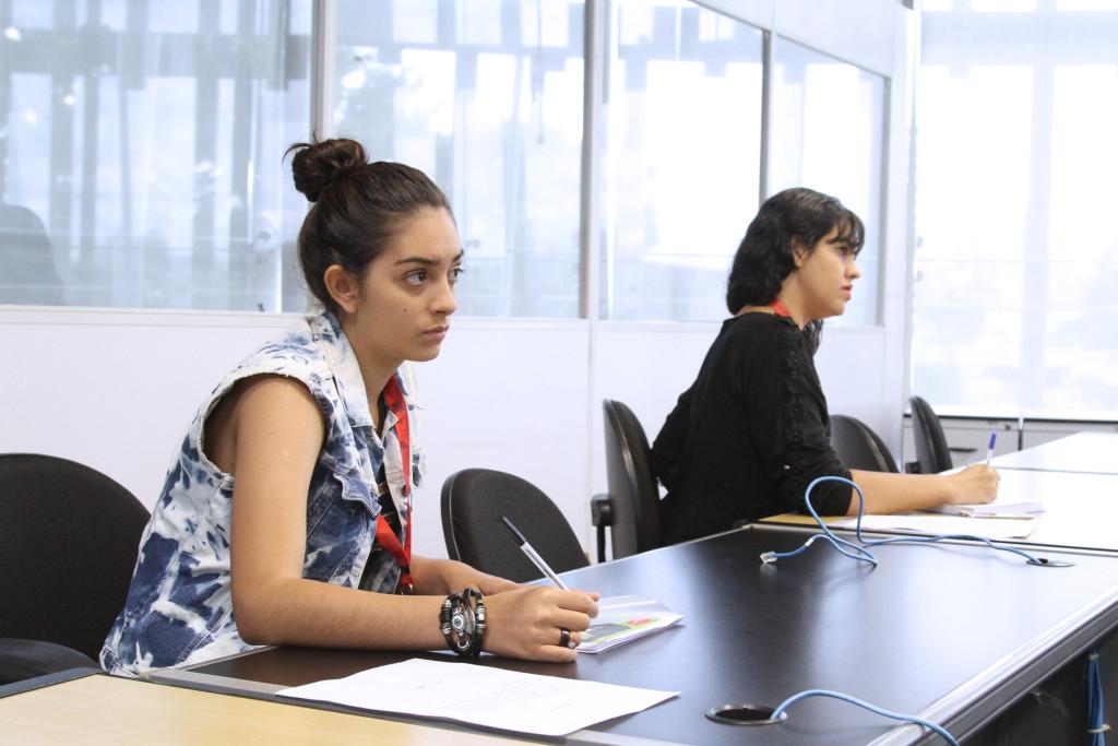 Palestra RH – São Paulo (SP) – 05.01.2017 – Geral - Integração RH estagiários – A Gerência de Recursos Humanos (GRH) promove palestra de integração para estagiários. Foto: Jose Cordeiro/SPTuris